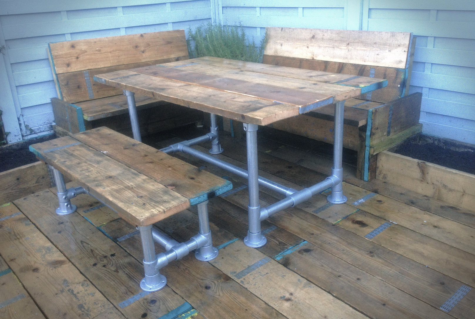 Garden Furniture Made From Scaffolding Planks plain garden furniture made from scaffolding planks